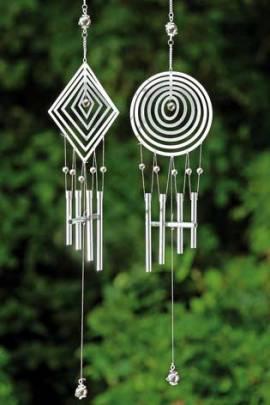 klangspiel windspiel gartendeko gartendekoration h nger. Black Bedroom Furniture Sets. Home Design Ideas