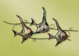 Wanddeko Wimpelfisch Fisch 68 cm (G69712) - Bild vergrößern