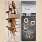 Bild Loona Leinwand auf Holzrahmen 130x50 cm (222010)