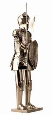 Flaschenhalter Ritter, dekoratives Geschenk (I3063)