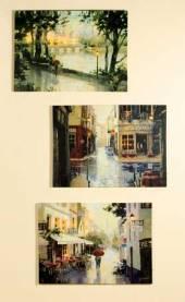 LED Bild La France Kunstdruck auf Keilrahmen 70 cm (G38535)