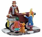 Weihnachts Marktstand Maronenstand (13984w)