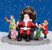 Nikolaus mit Kindern (24948w)