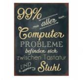 Schild Computerprobleme 40 x 30 cm (70638w)