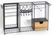 Schmuckkasten Holz/Metall als Garderobe (932329)