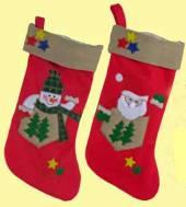 Weihnachtsstrumpf Nilolausstrumpf Nikolausstiefel