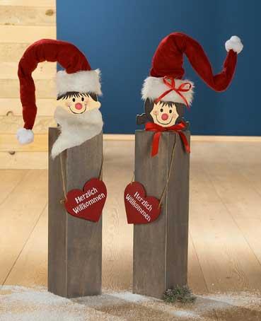 weihnachtsdeko aus holz fur aussen ~ kreatif von zu hause design ideen,