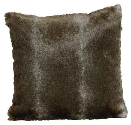 kissen fell kunstfell grau braun edel 45x45 cm 18157w. Black Bedroom Furniture Sets. Home Design Ideas