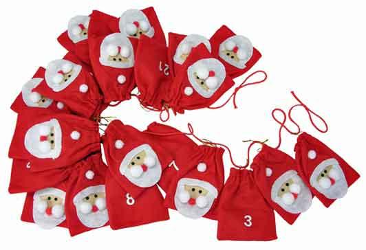 Adventskalender Weihnachtsmann 54127