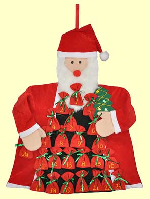 Adventskalender Weihnachtsmann (55406)