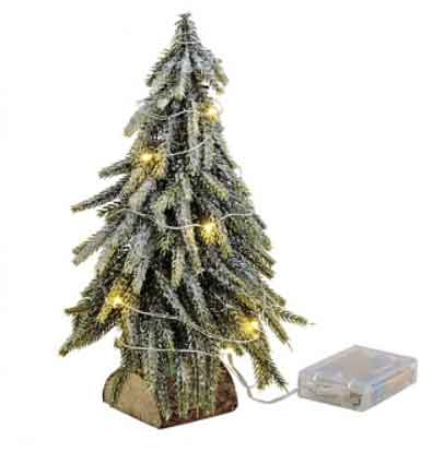 LED Baum beleuchtet 28 cm (11198w)