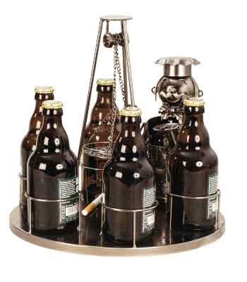 Flaschenhalter Grill Schwenker f. 6 Bierflaschen (I7091)