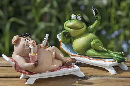 Frosch mit Handy witzig (1006052)