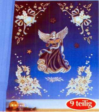 Fensterbild JUBILATE 9-teilig