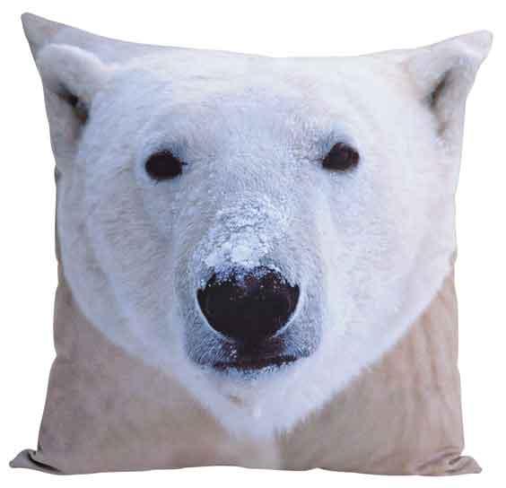 Kissen Eisbär 45x45 cm (17112w)