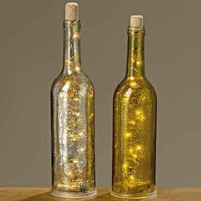 Flasche Mit Led Beleuchtung | Flasche Mit Led Beleuchtung Gold Silber Flaschenpost Nur 11 90 Eur