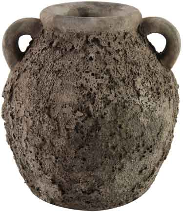 Amphore Vase Larisa grau 17 cm (D749692)