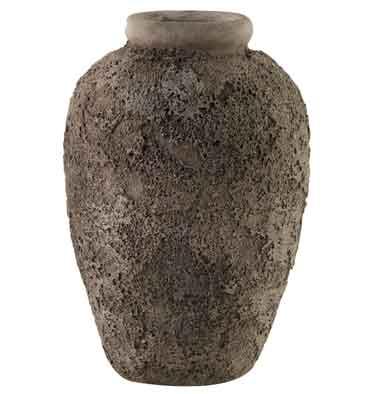 Dekovase Vase Kirsten grau 38 cm (D749686)