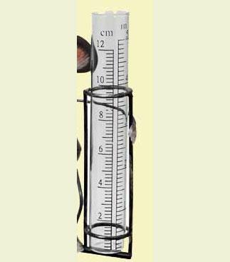 Regenmesser Ersatzglas 2 cm