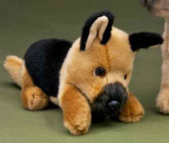 Förster Hund Schäferhund liegend (2680)