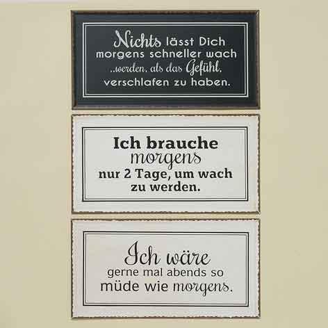 Schild mit Spruch witzig (243730)