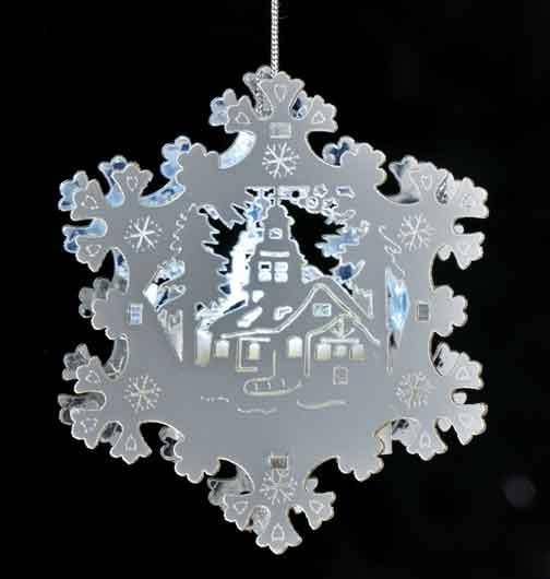 LED Schneeflocke Fensterbeleuchtung (76134)