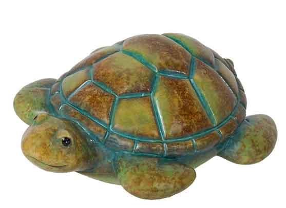 Schwimmtier Schildkröte Keramik 18 cm (921566)