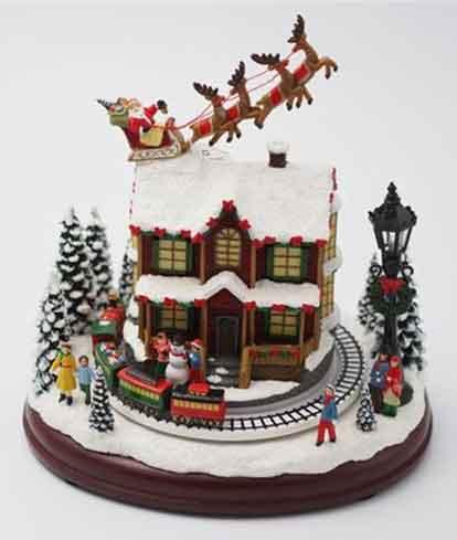 Spieluhr Weihnachten.Spieluhr Weihnachten Zug Santa 8 Melodien S57004 Weihnachtsdeko Ebay