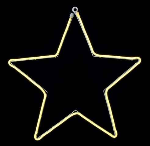 LED Stern Lichtschlauch für Außen/Innen 40 cm (E1045175)