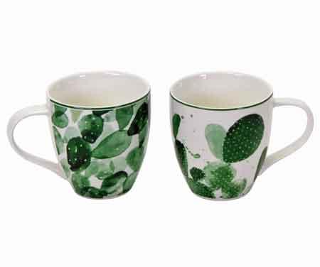 Becher Tasse Kaktus 400 ml (V42347) Kaffeetasse