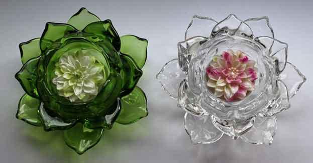 Teelicht ROSE 6er-Set sehr dekorativ