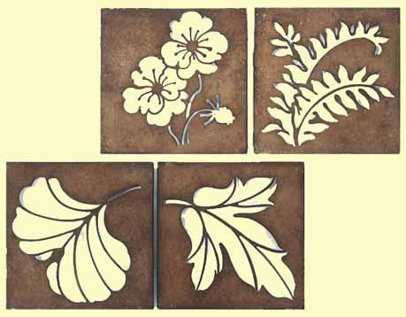 Wanddeko FLOWER Lasercut 2er-Set (932388)