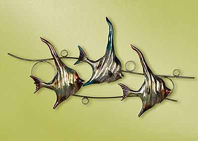 Wanddeko Wimpelfisch Fisch 68 cm (G69712)